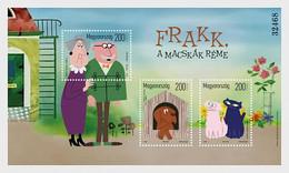 Hungary 2020 Hongrie Cartoon Fairy Tale Characters PT2 Frakk Terror CATS Dog Ms3 - Nuevos