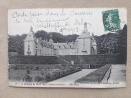 «accident De Service «(train,catastrophe De Melun)sur Château De MONTJEU. (Saône Et Loire) - Collections (without Album)