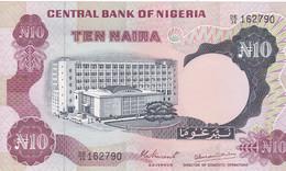 1 Billet  De La Central Bank Of Nigeria: 10 Naira  1973  Neuf N° 162787 - Nigeria