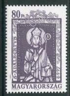 HUNGARY 1997 Millenary Of St. Adalbert  MNH / **.  Michel 4446 - Unused Stamps