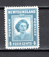 TERRE NEUVE  N° 230   NEUF AVEC CHARNIERE   COTE  0.75€    PRICESSE ELIZABETH - 1908-1947