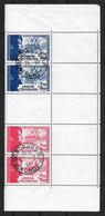 Légion Tricolore : N° 565/566 B  Oblitérés (cote 54,oo €) TB - Gebraucht