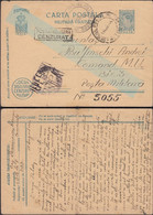 Romania - Field Post Stationery Card, Carte Postala Militara, Oficiul Postal Militar Nr. 3122 - 1944 - P.M. Nr. 5055. - Enteros Postales