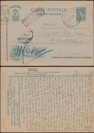 Romania - Field Post Stationery Card, Carte Postala Militara, Oficiul Postal Militar Nr. 5151 - 28.5.1944 - Timisoara. - Enteros Postales