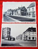 """LOMBARDSIJDE  -  Lot Van 2 Postkaarten : """" Schoolstraat """" En """" Lombardsijdelaan """" - Middelkerke"""