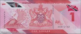 TWN - TRINIDAD & TOBAGO NEW - 1 Dollar 2020 (2021) Prefix AX - Polymer UNC - Trinidad & Tobago