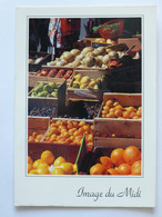 COULEURS DU MARCHE - ETAL DE FRUITS ET LEGUMES - Abricots, Oranges, Melons ... - Markets