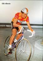 Postcard Alberto Elli - Ariostea - 1989 - Ciclismo