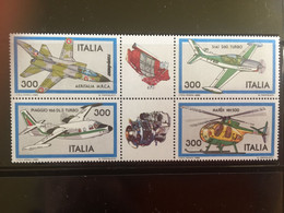 ITALIE / 1982 / N° YetT 1522 à 1525 / BLOC - 1981-90:  Nuovi