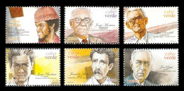 Cape Verde 2003 Mih. 819/24 Composers And Poets MNH ** - Cape Verde