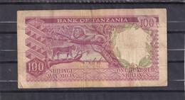 Tanzania 100 Shillings  Animals - Otros – Africa