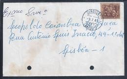 Obliteration Of 'Condução Lagos II' By Railways. Auslöschung Von 'Lagos II Driving' Durch Eisenbahnen. - Covers & Documents