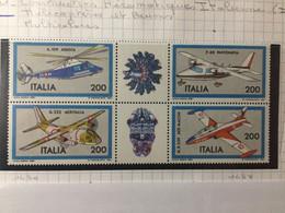 ITALIE / 1981 / N° YetT 1484 à 1487 / BLOC - 1981-90:  Nuovi