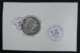 France 2021 -  Trésors De Notre-Dame -  Oblitéré - Used Stamps