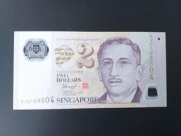 SINGAPOUR 2 DOLLARS 2011 NEUF/UNC.POLYMERE - Singapore