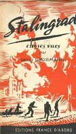 Stalingrad Choses Vues (septembre 1942-Janvier 1943) - Grossamnn Vassili - 1945 - Slav Languages