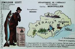 ► CPA - HERAULT Montpellier Béziers Vignoble Et Chimie   (DEPARTEMENT Collection Emulsion SCOTT) - Montpellier