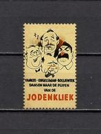Deutsches Reich Nederland Stalin Churchill Roosevelt Poster Cinderella Vignette Propaganda Postfrisch - Erinofilia