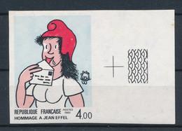 FRANCE - NON DENTELE HOMMAGE EFFEL N° 2291a) NEUF** SANS CHARNIERE BORD DE FEUILLE - COTE : 80€ - 1983 - Imperforates