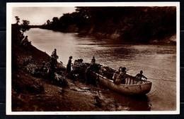 Somalia Italiana - Traghetto Sul Giuba (Fotocelere Di A. Campassi - Torino - 1935) - Somalie
