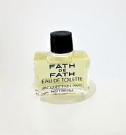 Miniatures De Parfum  FATH DE FATH   EDT  5  Ml - Mignon Di Profumo Uomo (senza Box)