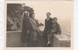 11819.  Fotografia Vintage Portofino Gruppo Famiglia 1955 - 10x7 - Luoghi