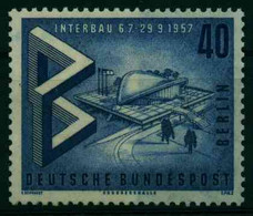 BERLIN 1957 Nr 162 Postfrisch X1258E6 - Unused Stamps