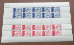France - 1942 - N°Yv. 565 à 566 - Légion Tricolore - Feuille Complète - Neuf Luxe ** / MNH / Postfrisch - Full Sheets