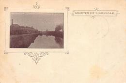 ROOSENDAAL (NB) Groeten Uit - Uitg. Onbekend - Roosendaal