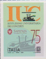 ITALY, 2020, MNH, MUSIC, MUSICAL INSTRUMENTS, UNIVERSITY INSTITUTION OF CONCERTS, SAPIENZA,1v - Musica