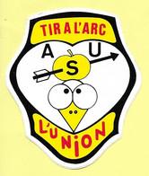 AUTOCOLLANT STICKER - ASU - ASSOCIATION SPORTIVE DE L'UNION - TIR A L'ARC - 31240 L'UNION HAUTE-GARONNE - Stickers
