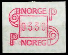NORWEGEN ATM Nr ATM3-330 Postfrisch X911B3E - ATM/Frama Labels