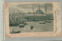 Souvenir -1900 - MOSQUEE DE VALIDE / YENI DJAMI - édit  Max Fruchtermann Constantinople  (Mai 2021 115 - Turchia