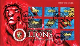 New Zealand 2017 British & Irish Rugby Lions Tour FDC - FDC