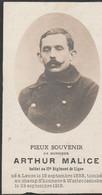ABL, Malice Né à Leuze 1888 - Westroosebeke 1918 - Todesanzeige