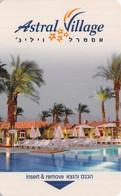 Astral Village Hotel Room Key Card - Hotel Keycards