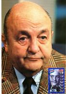 """ BERNARD BLIER "" Sur Carte Maximum De 1998 N° YT 3191. Parfait état. CM - Ohne Zuordnung"