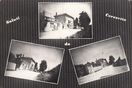 CERESETTO-UDINE-SALUTI DA..-MULTIVEDUTE-CARTOLINA  VERA FOTOGRAFIA VIAGGIATA NEL 1962 - Udine