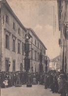 GUBBIO-PERUGIA-FESTA DEI CERI-ANIMATISSIMA.-CARTOLINA NON VIAGGIATA-1940-1950 - Perugia