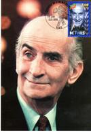 """"""" LOUIS DE FUNES """" Sur Enveloppe 1er Jour Sur Soie De 1998 N° YT 3190. Parfait état. CM - Ohne Zuordnung"""