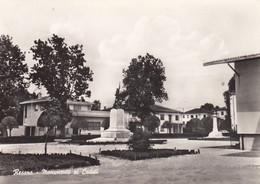 RESANA-TREVISO-MONUMENTO AI CADUTI-CARTOLINA VERA FOTOGRAFIA-VIAGGIATA NEL 1970 - Treviso