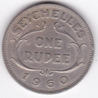 Seychelles 1 Rupee 1960 . Elizabeth II . KM# 13 - Seychelles