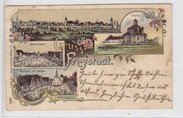 Freystadt Farbige Karte Nach Germersberg - Sin Clasificación