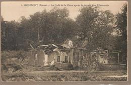 02 - Bosmont (aisne) - La Café De La Gare Après Le Départ Des Allemands - Otros Municipios