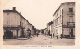 LANGON - Route De Bazas - Langon