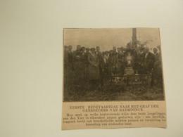 """Origineel Knipsel ( D 565 ) Uit Tijdschrift """" Ons Volk """" 1920 : Gebroeders Van Raemdonck  Temse  Steenstrate - Unclassified"""