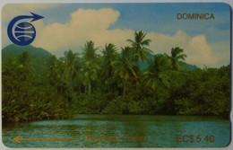 DOMINICA - GPT - 2CDMA - $5.40 - DOM-2A - Indian River - 1000ex - Mint - Dominica