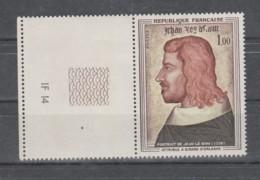 FRANCE / 1964 / Y&T N° 1413 ** : Portrait De Jean Le Bon (attribué à Girard D'Orléans) X 1 BdF G Et Presse - Neufs