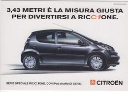 Citroen C1  -  Publicité D'epoque  -  CPM - PKW