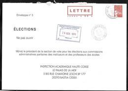PAP,TSC , Luquet 50 Grs, Elections éducation Nationale ,variété Rieuse  Dans Le Texte : InstiTUEURS Et ChaMoine ! - Prêts-à-poster:Stamped On Demand & Semi-official Overprinting (1995-...)